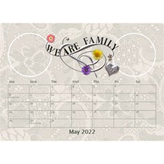 I Love My Family Desktop Calendar 8 5x6 By Lil    Desktop Calendar 8 5  X 6    6py17zofvmre   Www Artscow Com May 2015