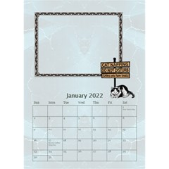 I Love My Cat Desktop Calendar 6 x8 5  By Lil    Desktop Calendar 6  X 8 5    Wj8oqxj8hw60   Www Artscow Com Jan 2015
