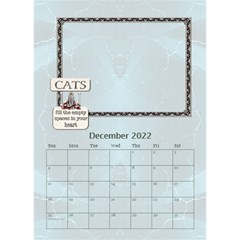 I Love My Cat Desktop Calendar 6 x8 5  By Lil    Desktop Calendar 6  X 8 5    Wj8oqxj8hw60   Www Artscow Com Dec 2015