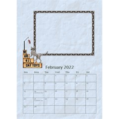 I Love My Cat Desktop Calendar 6 x8 5  By Lil    Desktop Calendar 6  X 8 5    Wj8oqxj8hw60   Www Artscow Com Feb 2015