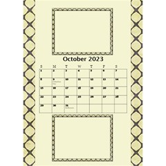 Tones Of Gold Desktop Calendar By Deborah   Desktop Calendar 6  X 8 5    6ydip2nu7cs8   Www Artscow Com Oct 2020