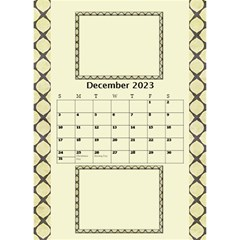 Tones Of Gold Desktop Calendar By Deborah   Desktop Calendar 6  X 8 5    6ydip2nu7cs8   Www Artscow Com Dec 2020