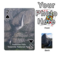 Waterfall Playing Cards By Sjinks Gmail Com   Playing Cards 54 Designs   S4dv572t3iv0   Www Artscow Com Front - Spade2