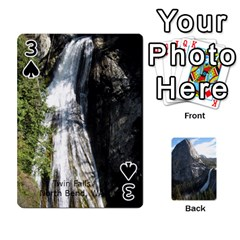 Waterfall Playing Cards By Sjinks Gmail Com   Playing Cards 54 Designs   S4dv572t3iv0   Www Artscow Com Front - Spade3