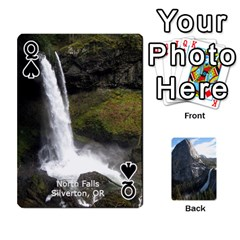 Queen Waterfall Playing Cards By Sjinks Gmail Com   Playing Cards 54 Designs   S4dv572t3iv0   Www Artscow Com Front - SpadeQ