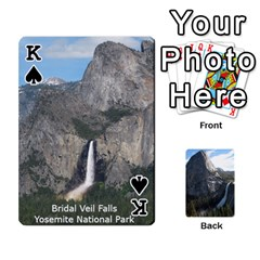 King Waterfall Playing Cards By Sjinks Gmail Com   Playing Cards 54 Designs   S4dv572t3iv0   Www Artscow Com Front - SpadeK