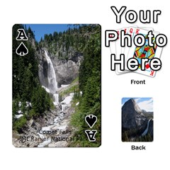 Ace Waterfall Playing Cards By Sjinks Gmail Com   Playing Cards 54 Designs   S4dv572t3iv0   Www Artscow Com Front - SpadeA