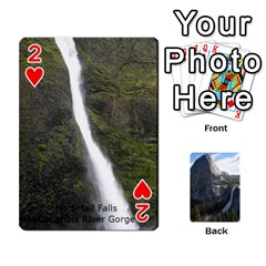 Waterfall Playing Cards By Sjinks Gmail Com   Playing Cards 54 Designs   S4dv572t3iv0   Www Artscow Com Front - Heart2