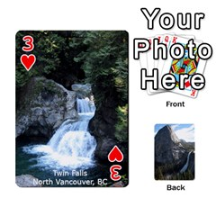 Waterfall Playing Cards By Sjinks Gmail Com   Playing Cards 54 Designs   S4dv572t3iv0   Www Artscow Com Front - Heart3