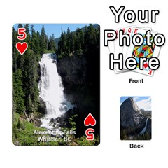 Waterfall Playing Cards By Sjinks Gmail Com   Playing Cards 54 Designs   S4dv572t3iv0   Www Artscow Com Front - Heart5