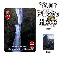 Waterfall Playing Cards By Sjinks Gmail Com   Playing Cards 54 Designs   S4dv572t3iv0   Www Artscow Com Front - Heart6
