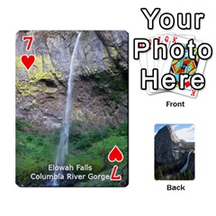 Waterfall Playing Cards By Sjinks Gmail Com   Playing Cards 54 Designs   S4dv572t3iv0   Www Artscow Com Front - Heart7