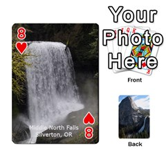 Waterfall Playing Cards By Sjinks Gmail Com   Playing Cards 54 Designs   S4dv572t3iv0   Www Artscow Com Front - Heart8