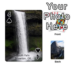 Waterfall Playing Cards By Sjinks Gmail Com   Playing Cards 54 Designs   S4dv572t3iv0   Www Artscow Com Front - Spade4