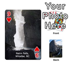 Waterfall Playing Cards By Sjinks Gmail Com   Playing Cards 54 Designs   S4dv572t3iv0   Www Artscow Com Front - Heart9