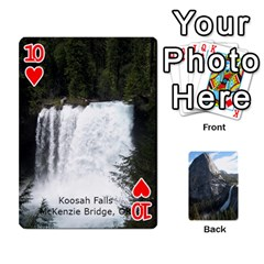 Waterfall Playing Cards By Sjinks Gmail Com   Playing Cards 54 Designs   S4dv572t3iv0   Www Artscow Com Front - Heart10