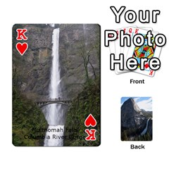 King Waterfall Playing Cards By Sjinks Gmail Com   Playing Cards 54 Designs   S4dv572t3iv0   Www Artscow Com Front - HeartK