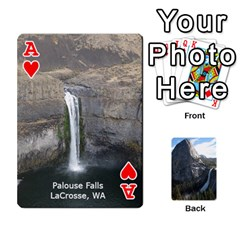 Ace Waterfall Playing Cards By Sjinks Gmail Com   Playing Cards 54 Designs   S4dv572t3iv0   Www Artscow Com Front - HeartA