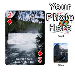 Waterfall Playing Cards By Sjinks Gmail Com   Playing Cards 54 Designs   S4dv572t3iv0   Www Artscow Com Front - Diamond2