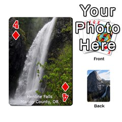 Waterfall Playing Cards By Sjinks Gmail Com   Playing Cards 54 Designs   S4dv572t3iv0   Www Artscow Com Front - Diamond4