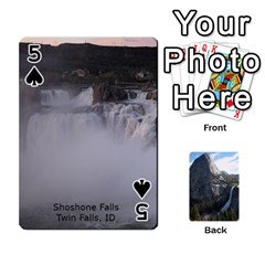 Waterfall Playing Cards By Sjinks Gmail Com   Playing Cards 54 Designs   S4dv572t3iv0   Www Artscow Com Front - Spade5