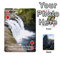 Waterfall Playing Cards By Sjinks Gmail Com   Playing Cards 54 Designs   S4dv572t3iv0   Www Artscow Com Front - Diamond6