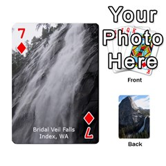 Waterfall Playing Cards By Sjinks Gmail Com   Playing Cards 54 Designs   S4dv572t3iv0   Www Artscow Com Front - Diamond7