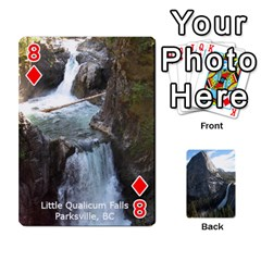 Waterfall Playing Cards By Sjinks Gmail Com   Playing Cards 54 Designs   S4dv572t3iv0   Www Artscow Com Front - Diamond8