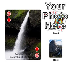 Waterfall Playing Cards By Sjinks Gmail Com   Playing Cards 54 Designs   S4dv572t3iv0   Www Artscow Com Front - Diamond9