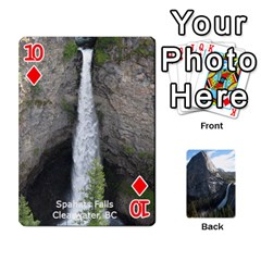 Waterfall Playing Cards By Sjinks Gmail Com   Playing Cards 54 Designs   S4dv572t3iv0   Www Artscow Com Front - Diamond10