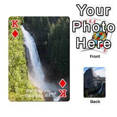 King Waterfall Playing Cards By Sjinks Gmail Com   Playing Cards 54 Designs   S4dv572t3iv0   Www Artscow Com Front - DiamondK