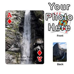 Ace Waterfall Playing Cards By Sjinks Gmail Com   Playing Cards 54 Designs   S4dv572t3iv0   Www Artscow Com Front - DiamondA