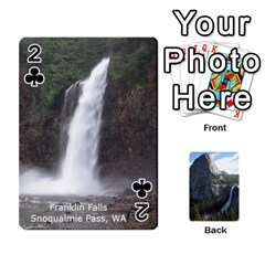 Waterfall Playing Cards By Sjinks Gmail Com   Playing Cards 54 Designs   S4dv572t3iv0   Www Artscow Com Front - Club2