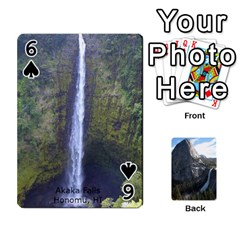 Waterfall Playing Cards By Sjinks Gmail Com   Playing Cards 54 Designs   S4dv572t3iv0   Www Artscow Com Front - Spade6