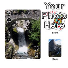 Waterfall Playing Cards By Sjinks Gmail Com   Playing Cards 54 Designs   S4dv572t3iv0   Www Artscow Com Front - Club3