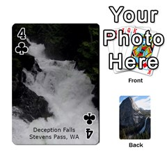 Waterfall Playing Cards By Sjinks Gmail Com   Playing Cards 54 Designs   S4dv572t3iv0   Www Artscow Com Front - Club4