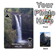 Waterfall Playing Cards By Sjinks Gmail Com   Playing Cards 54 Designs   S4dv572t3iv0   Www Artscow Com Front - Club6
