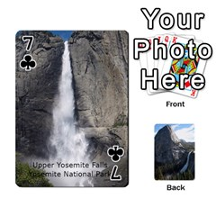 Waterfall Playing Cards By Sjinks Gmail Com   Playing Cards 54 Designs   S4dv572t3iv0   Www Artscow Com Front - Club7