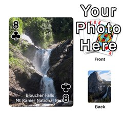 Waterfall Playing Cards By Sjinks Gmail Com   Playing Cards 54 Designs   S4dv572t3iv0   Www Artscow Com Front - Club8