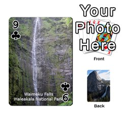 Waterfall Playing Cards By Sjinks Gmail Com   Playing Cards 54 Designs   S4dv572t3iv0   Www Artscow Com Front - Club9