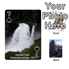 Waterfall Playing Cards By Sjinks Gmail Com   Playing Cards 54 Designs   S4dv572t3iv0   Www Artscow Com Front - Spade7