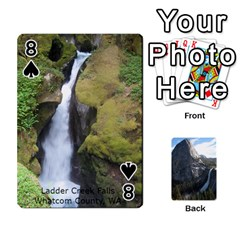Waterfall Playing Cards By Sjinks Gmail Com   Playing Cards 54 Designs   S4dv572t3iv0   Www Artscow Com Front - Spade8