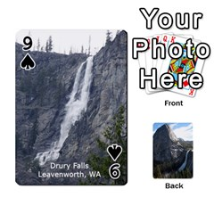 Waterfall Playing Cards By Sjinks Gmail Com   Playing Cards 54 Designs   S4dv572t3iv0   Www Artscow Com Front - Spade9
