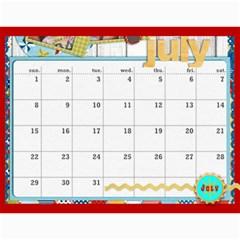 Marli s Calender 2 By Linda Ward   Wall Calendar 11  X 8 5  (12 Months)   Bm7oimqdigsa   Www Artscow Com Jul 2012