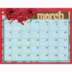 Marli s Calender 2 By Linda Ward   Wall Calendar 11  X 8 5  (12 Months)   Bm7oimqdigsa   Www Artscow Com Mar 2012