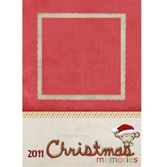 Chistmas Memories Card By Denise Zavagno   Greeting Card 5  X 7    Mwof8ebizbt6   Www Artscow Com Front Cover