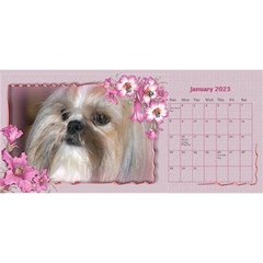Pretty As A Picture Desktop Calendar By Deborah   Desktop Calendar 11  X 5    Yq3vxmsaw0ps   Www Artscow Com Jan 2018