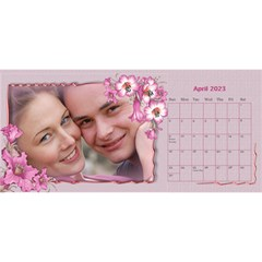 Pretty As A Picture Desktop Calendar By Deborah   Desktop Calendar 11  X 5    Yq3vxmsaw0ps   Www Artscow Com Apr 2018
