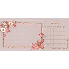 Pretty As A Picture Desktop Calendar By Deborah   Desktop Calendar 11  X 5    Yq3vxmsaw0ps   Www Artscow Com May 2018