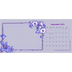 Pretty As A Picture Desktop Calendar By Deborah   Desktop Calendar 11  X 5    Yq3vxmsaw0ps   Www Artscow Com Sep 2018